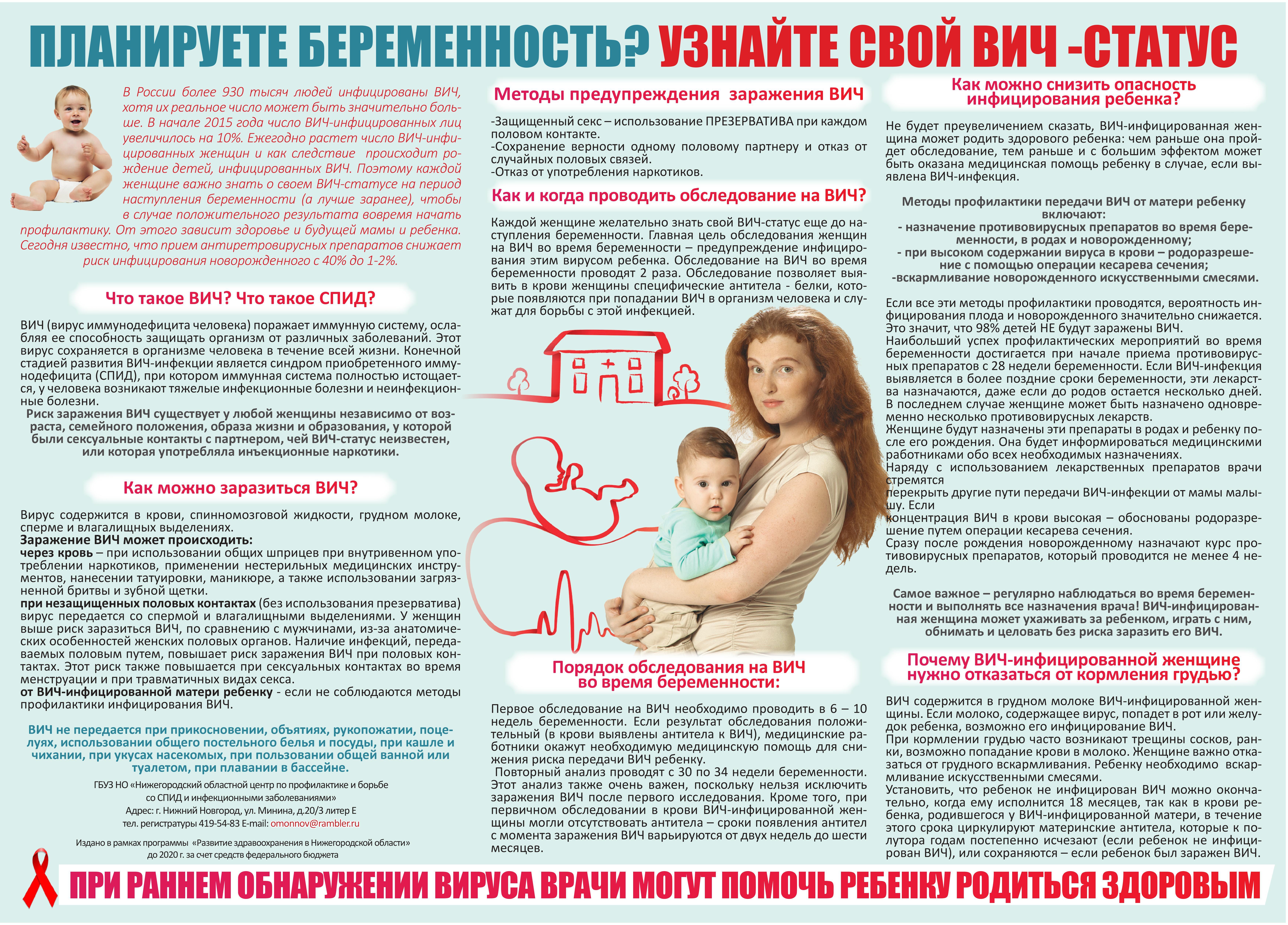 Беременность профилактика заболеваний